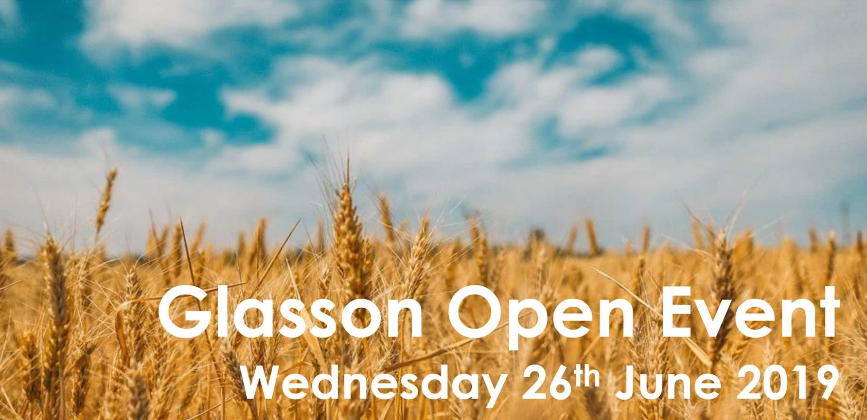 Glasson Open Event Banner
